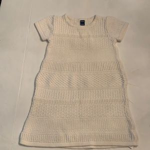 Old Navy Cream Sweater Dress. Size 4T